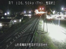 鶴岡市 堅苔沢2[山形県 国道7号]ライブカメラ